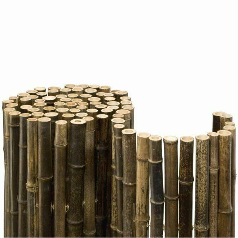 Sichtschutz Black Bambus Gartenzaun Windschutz Bambuszaun Zaun