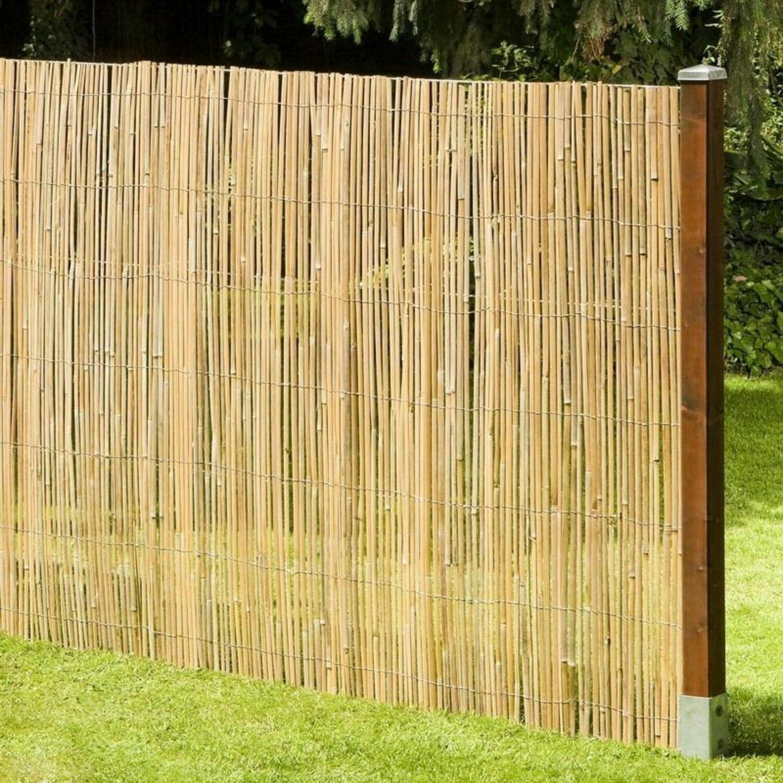 Sichtschutz Aus Bambus Macao Bambusmatte Gartenzaun Zaun