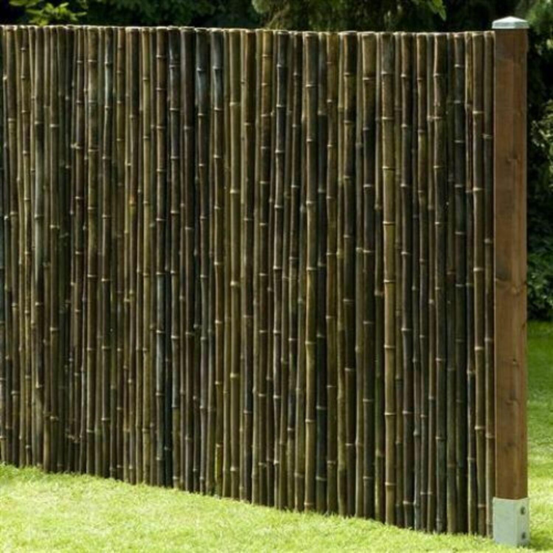Sichtschutz Black Bambus Gartenzaun Windschutz Zaun Bambuszaun In