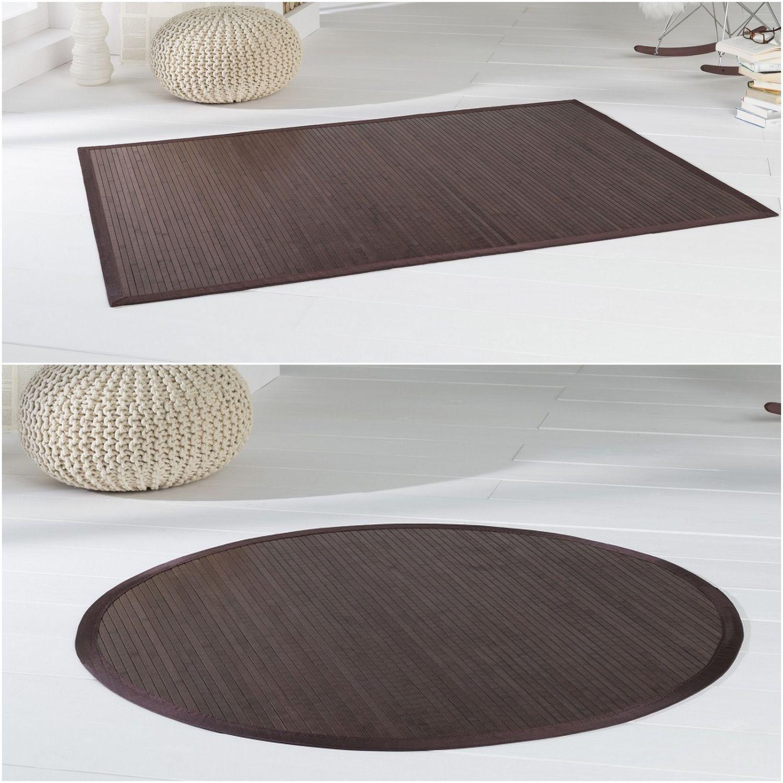 bambusteppich teppich bambusmatte wenge in 11 gr en. Black Bedroom Furniture Sets. Home Design Ideas
