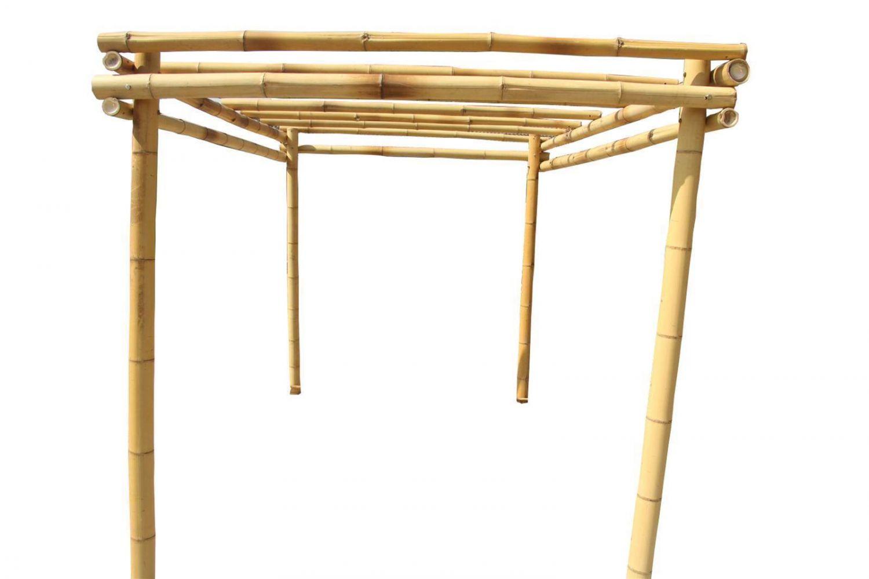 Bambus Pergola Pavillon Fur Ihren Garten Terrasse Rankhilfe