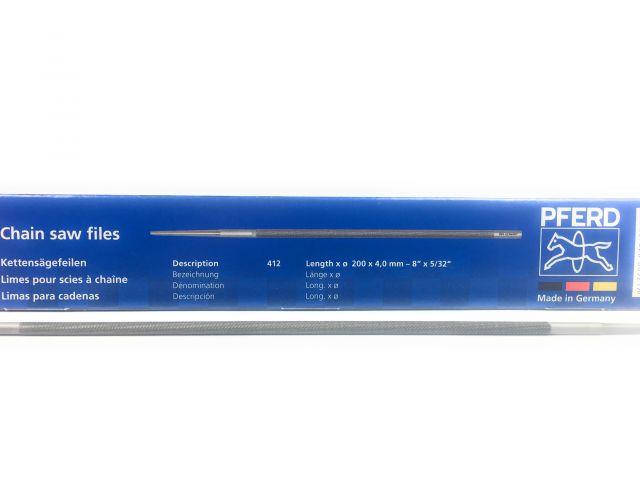 6er Pack Pferd Kettensägefeile Rundfeile 4,8 mm für Pferd C-SX Kettenschärfgerät