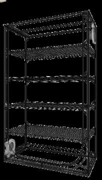 Secret Jardin Dark Propagator DP120 Anzuchtbox Growzelt Maße: 120x60x120cm