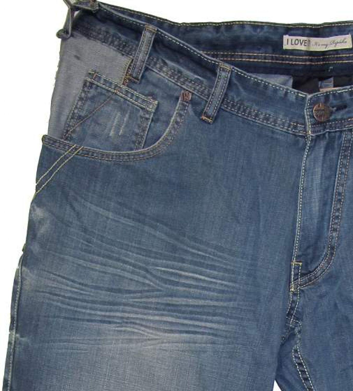Stretch Jeans Robert Übergröße Pionier Flatfront in großen Bauchgrößen