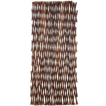 5x holz rankgitter rankhilfe weidenzaun sichtschutz variabel bis 180x60cm ebay. Black Bedroom Furniture Sets. Home Design Ideas
