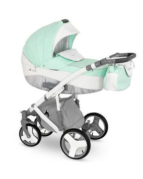 lux4kids kinderwagen set 3in1 mit zubeh r buggy baybwanne babyschale neu pireus ebay. Black Bedroom Furniture Sets. Home Design Ideas
