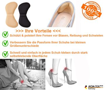 Fersenhalter High Heels Schuh Fersenpolster für mehr