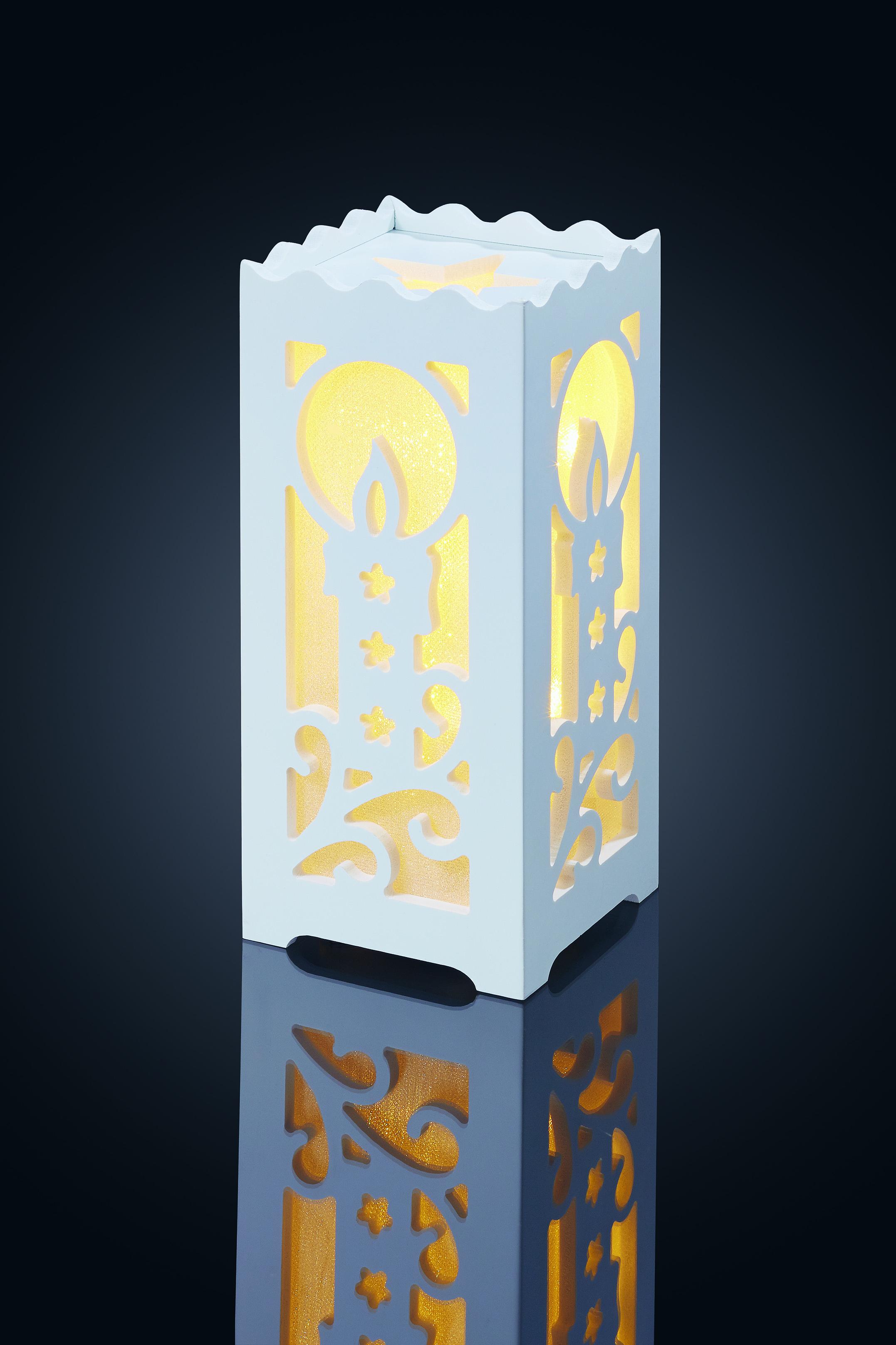 LED Kaktus grün Lampe Leuchte Deko 131 LED´s Indoor Nachtlicht Sihoulette Licht