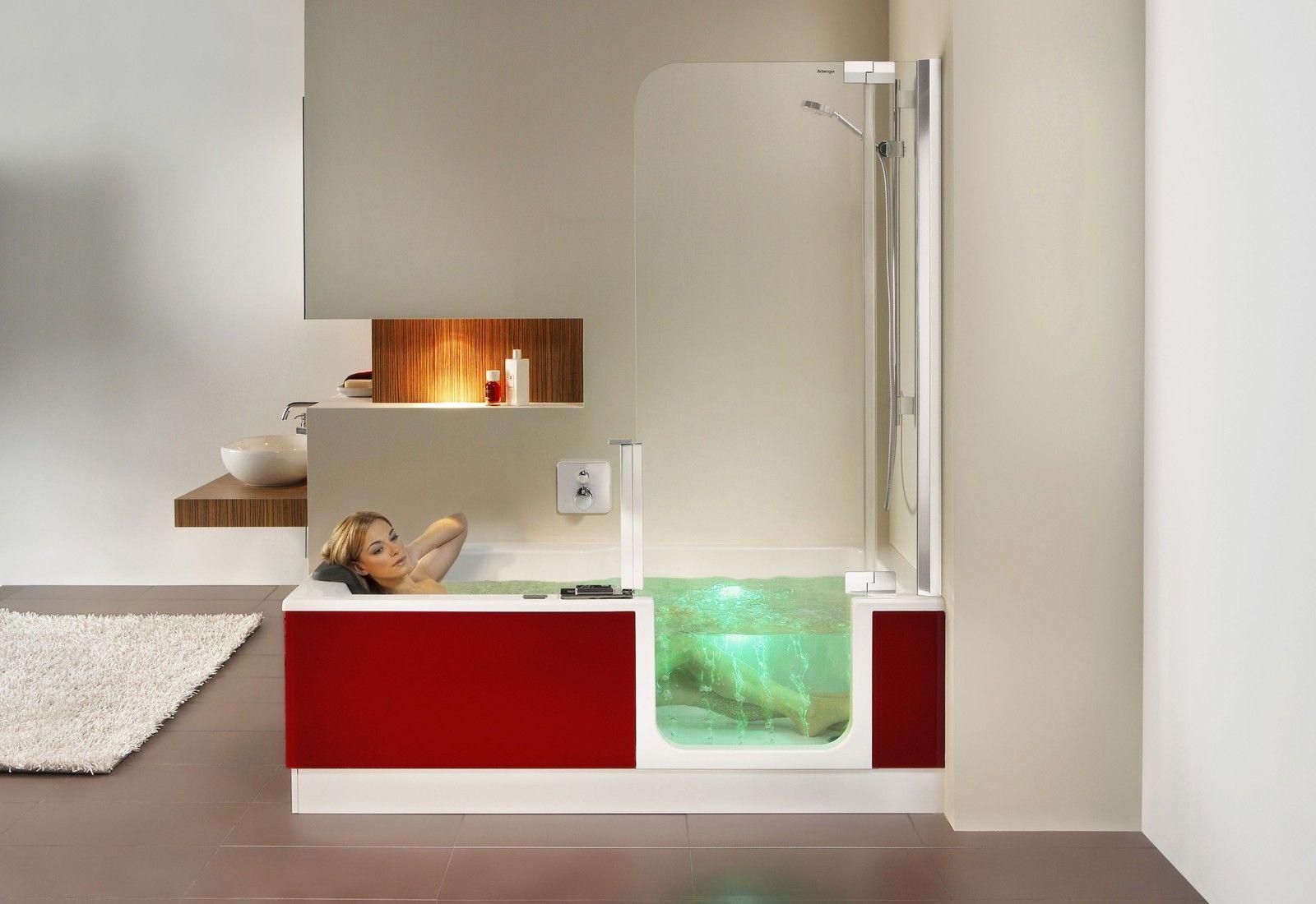 Vasca Da Bagno 170 75 : Artweger twinline dusch badewanne cm mit tür mit