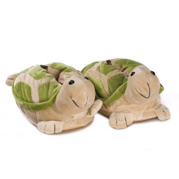47b5cc7d4bb Novelty Slippers turtle green durable rubber sole children men women ...