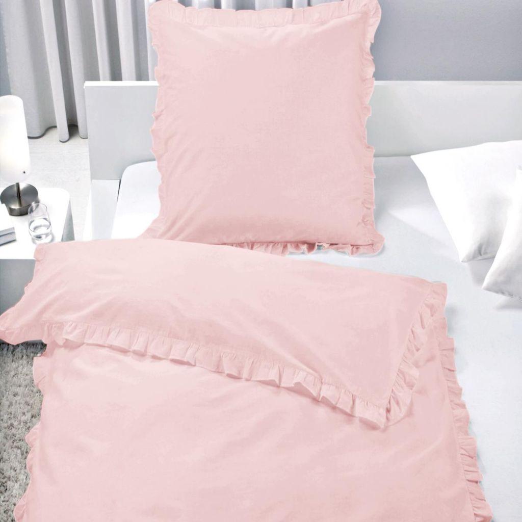 bettw sche set r schen 100 baumwolle rei verschluss romantik landhaus vintage ebay. Black Bedroom Furniture Sets. Home Design Ideas