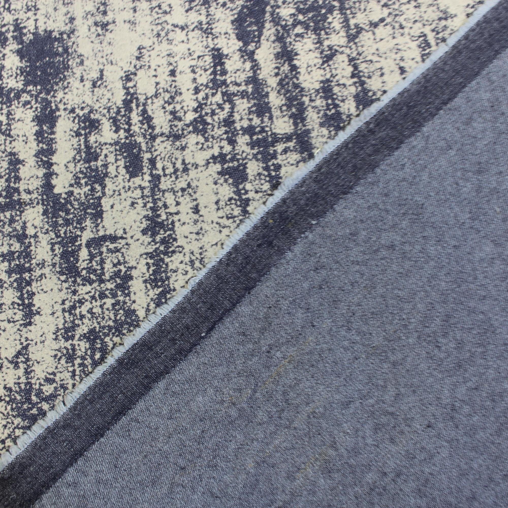0,5m Jeansstoff Stretch Denim Usedlook Designerstoff Meterware Farbauswahl