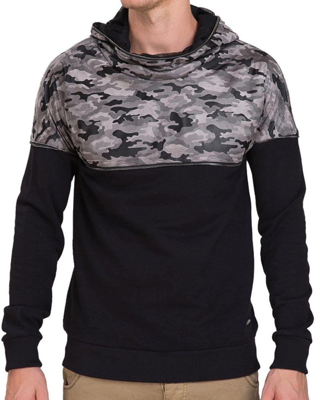 3b30dbdc67e1 Redbridge Herren Hoodie Pullover Sweater Mesh Army Camouflage Hoody ...
