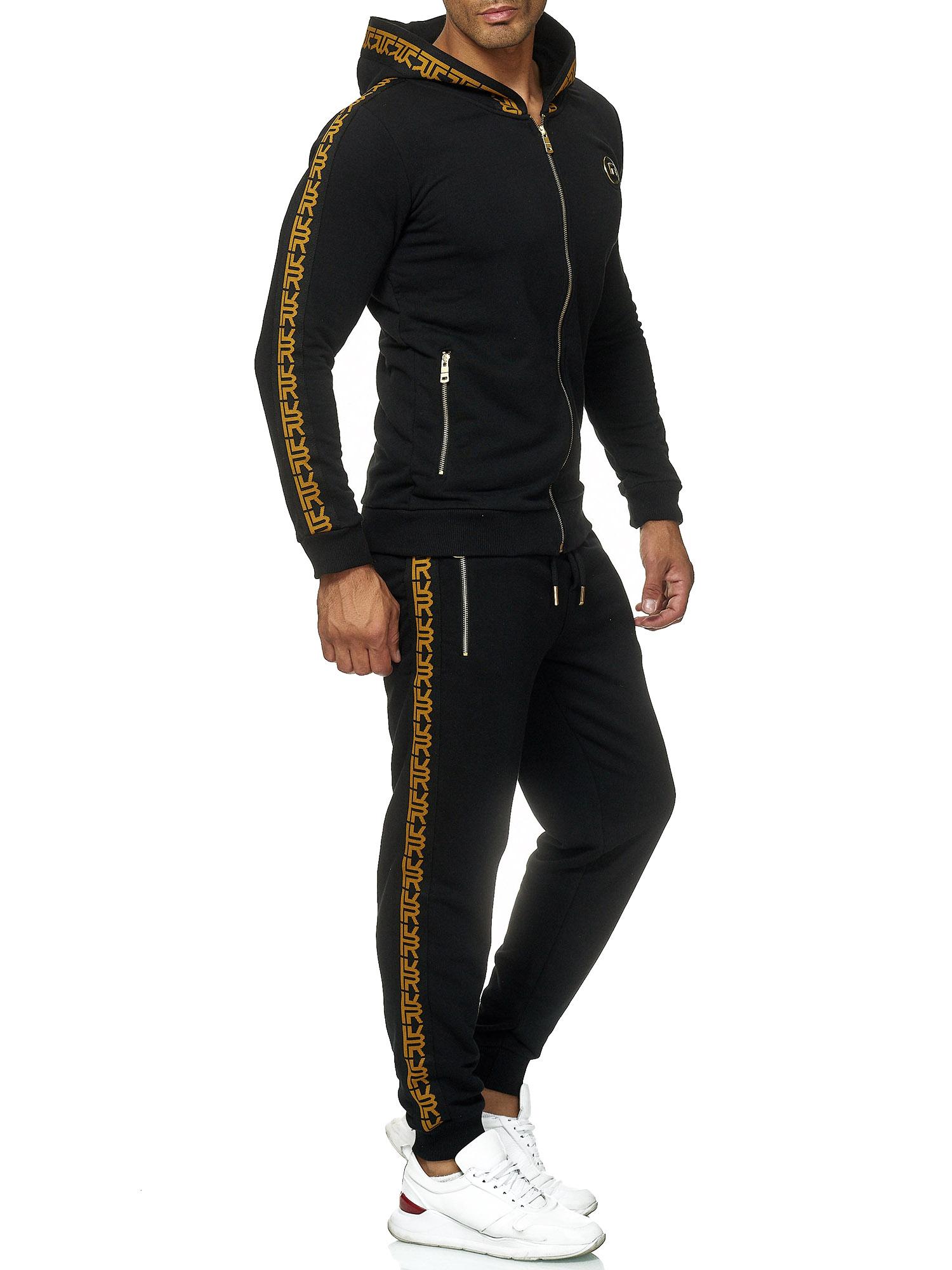 Redbridge Men/'s Tracksuit Sweat Suit Set Jacket Pullover Trousers Premium