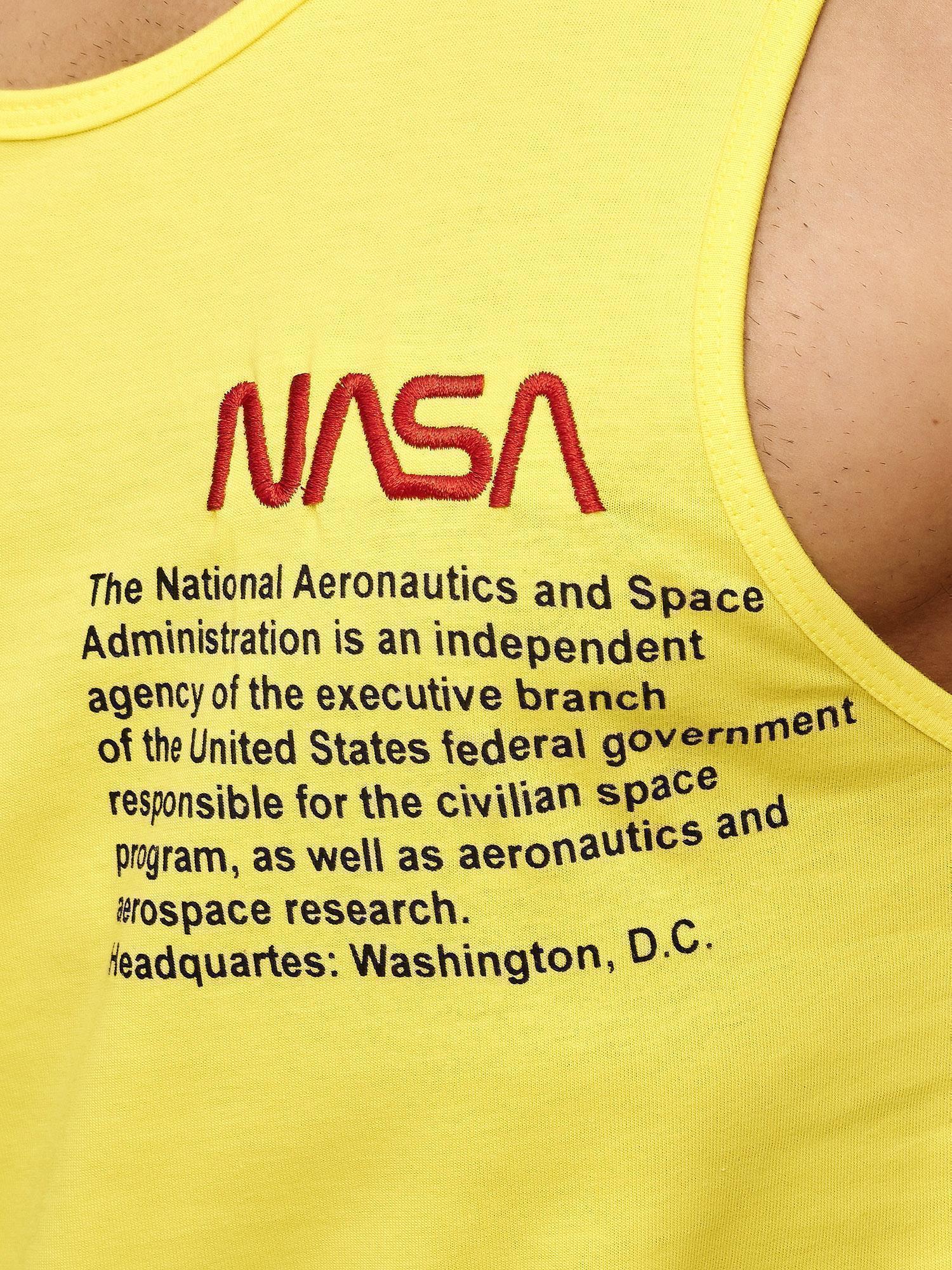 Redbridge Homme Tank Top /& Shorts Jogging Costume Pantalon Court T-shirt Set NASA Logo