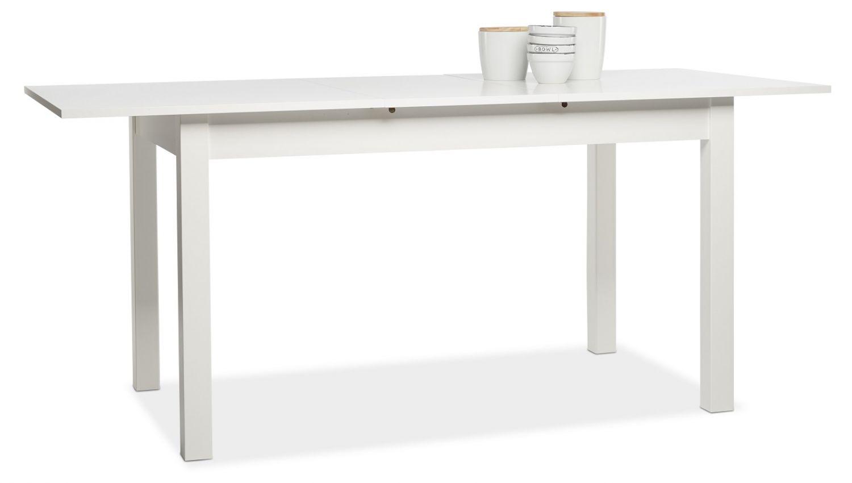 esstisch cobus ausziehtisch ausziehbar k chentisch wei 140 180 x80 ebay. Black Bedroom Furniture Sets. Home Design Ideas