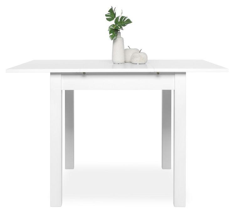 esstisch klein ausziehtisch ausziehbar k chentisch. Black Bedroom Furniture Sets. Home Design Ideas