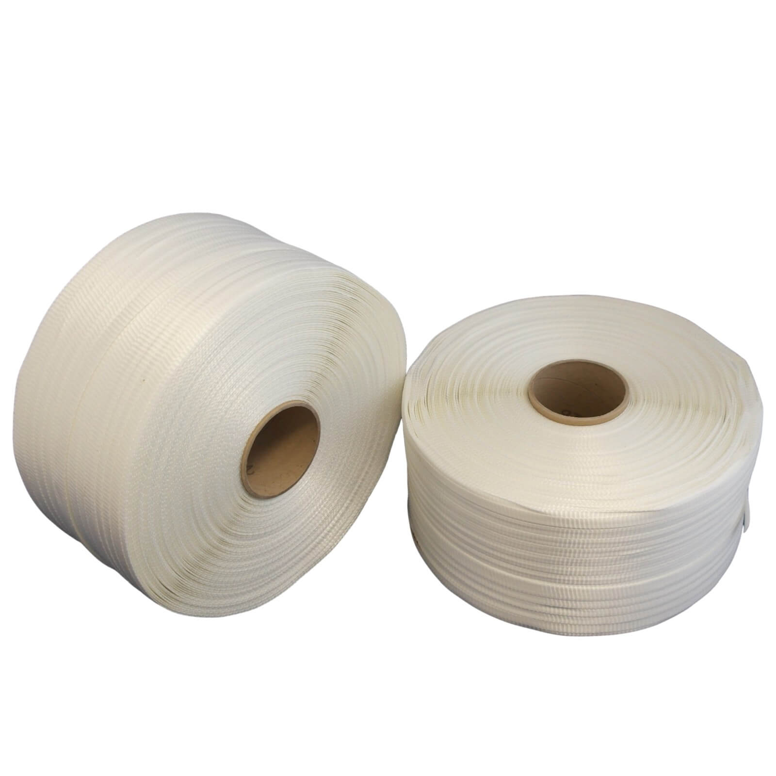 2 Rollen gewebtes Umreifungsband 25 mm 76 mm Kern 2 x 500 m