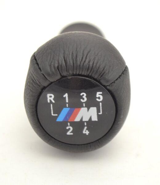 Pommeau Silver Schaltsack handbremssack pour BMW 3 3er e46 e36 5-Gang sait