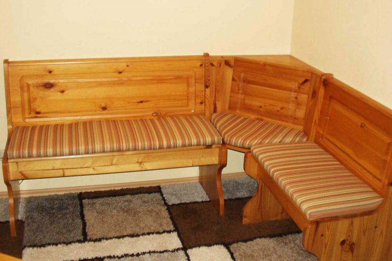 3 teiliger set eckbank auflagen auf ma wunsch stoff rei verschluss abziehbar ebay. Black Bedroom Furniture Sets. Home Design Ideas