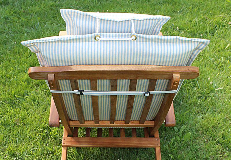 deckchair auflage nach ma aus dralon schriftzug aussticken m glich abziehbar ebay. Black Bedroom Furniture Sets. Home Design Ideas