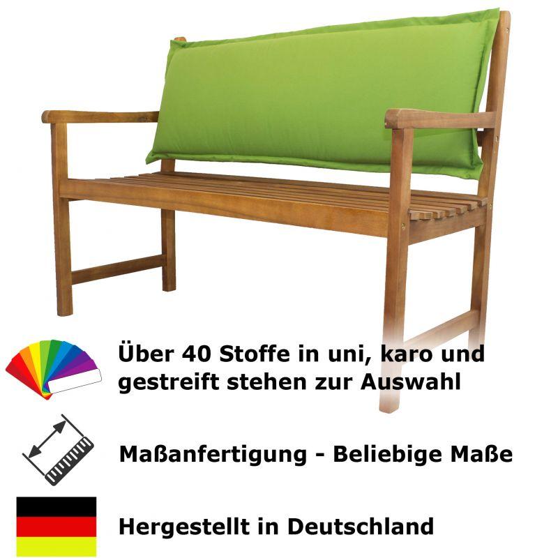 r ckenkissen f r bank nach ma outdoorstoff rei verschluss abziehbar wunschma ebay. Black Bedroom Furniture Sets. Home Design Ideas