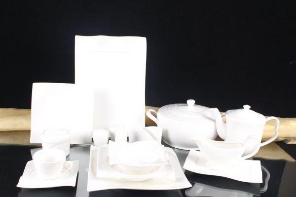 2x Schillerbach Designer Salz /& Pfeffer Set in Schale Porzellan