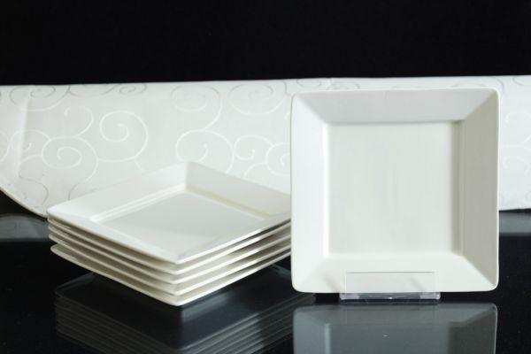tafelservice wei 12 personen porzellan essservice geschirr 60 tlg gelsenkirchen. Black Bedroom Furniture Sets. Home Design Ideas