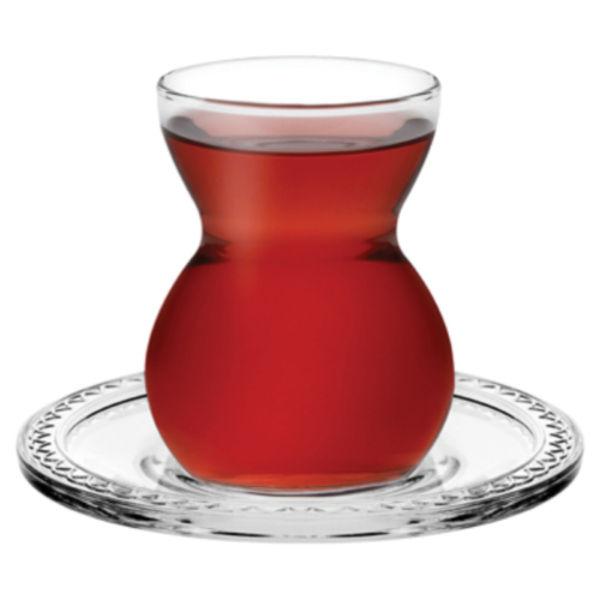 6x Teegläser de Pasabahce Avec Henkel potable Glaser Cay bardagi Thé TEEGLAS keyif