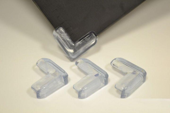 eckenschutz kantenschutz gummi eckschutz glastisch kinder sicherung baby schutz ebay. Black Bedroom Furniture Sets. Home Design Ideas