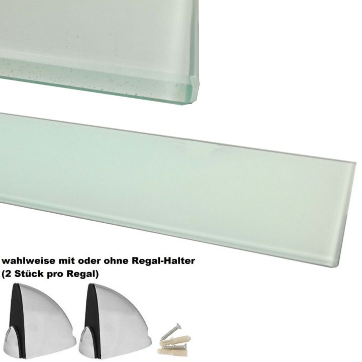 Glasboden 6mm glasplatte f r glasregal glasscheibe regalhalter bad glas regal ebay - Glasscheibe fur fenster ...