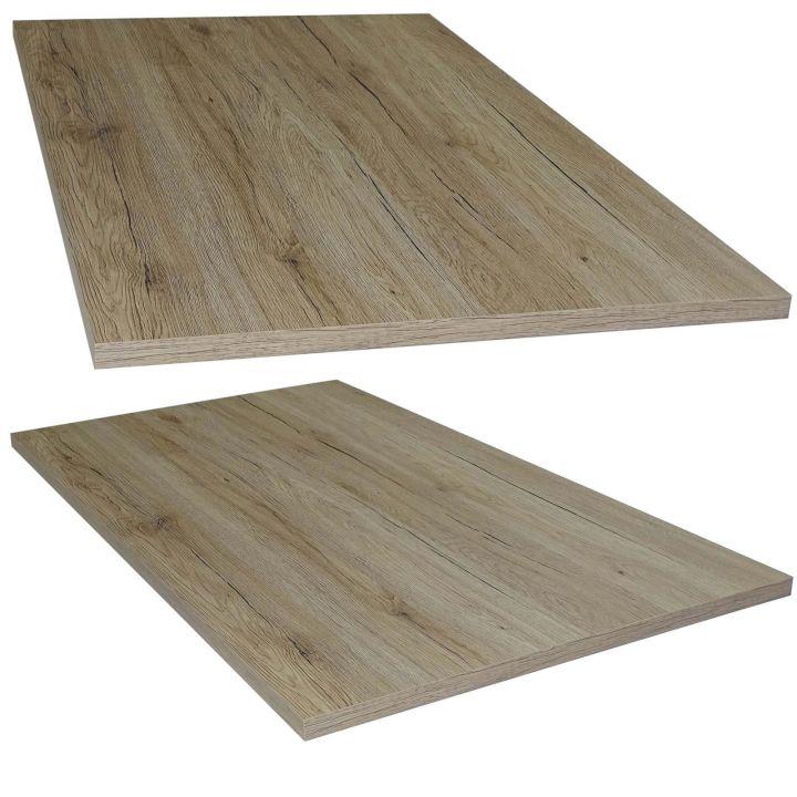 tischplatte san remo eiche holz platte f r couchtisch esstisch schreibtisch ebay. Black Bedroom Furniture Sets. Home Design Ideas