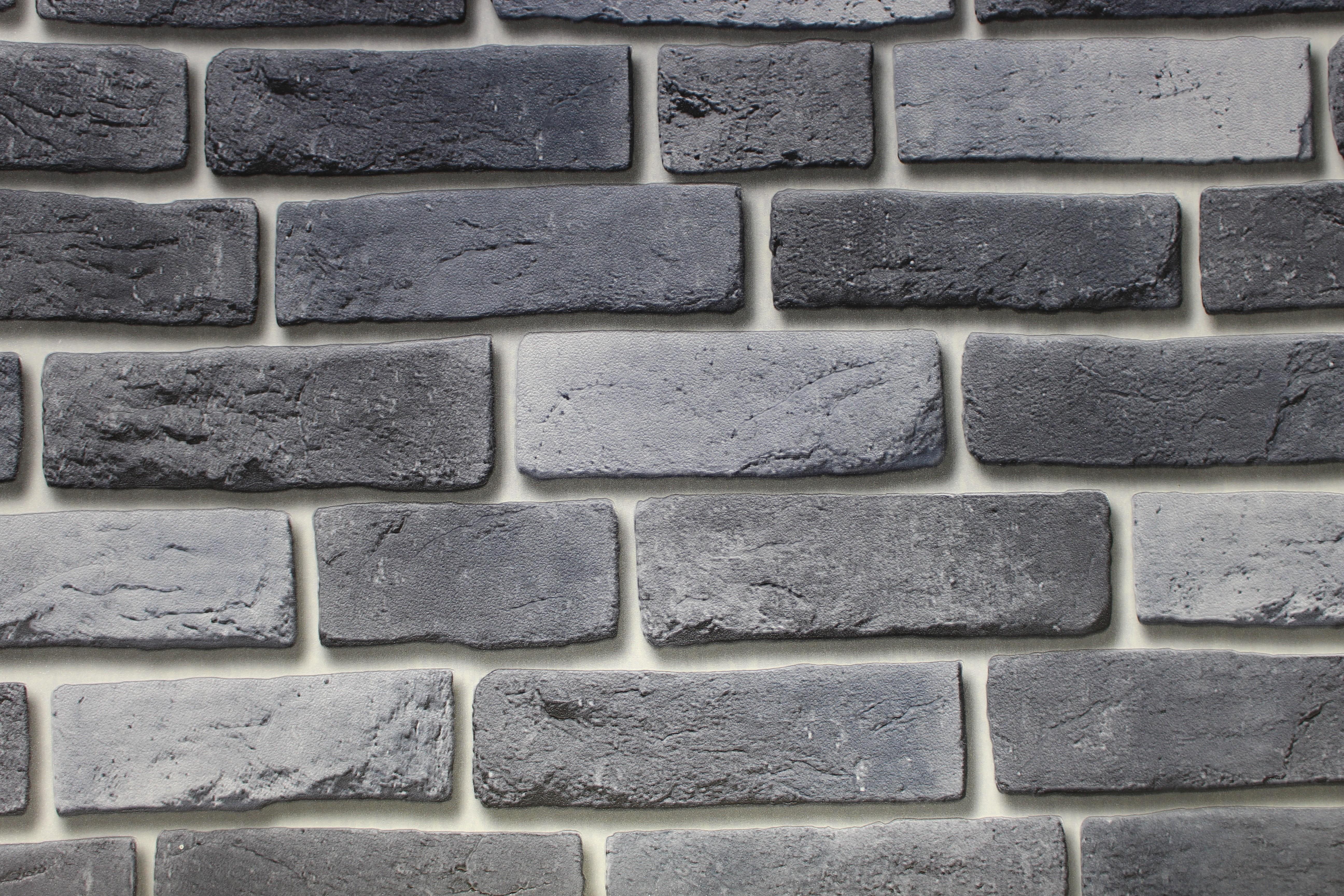 Einfach Steinwand Farbe ~ Ziegelstein mauer tapete in ver farben rot grau weiß steinwand