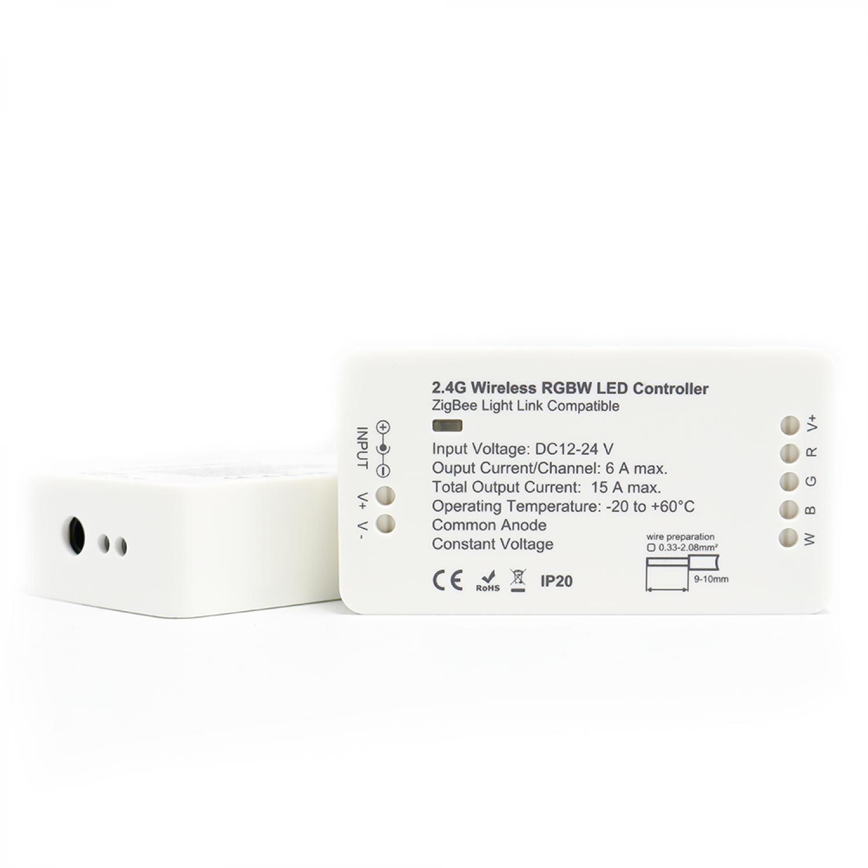RGBW Steuergerät Controller ZigBee kompatibel LED Lichtband Spots ...