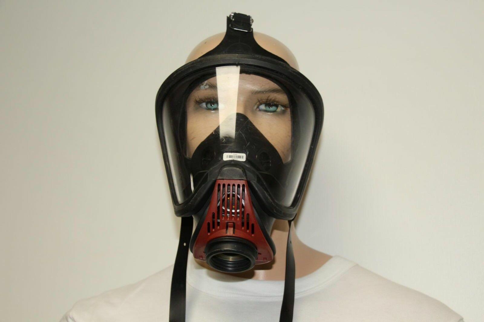 Auer-MSA-Ultra-Elite-Atemschutzmaske-Schutzmaske-Uberdruck-Steckanschluss Indexbild 3