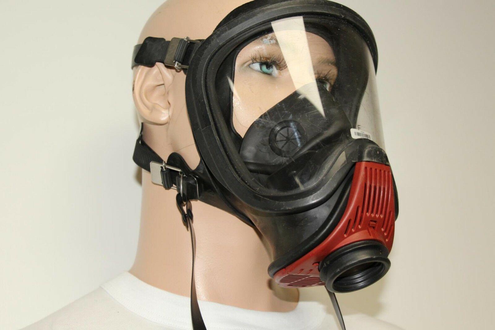 Auer-MSA-Ultra-Elite-Atemschutzmaske-Schutzmaske-Uberdruck-Steckanschluss