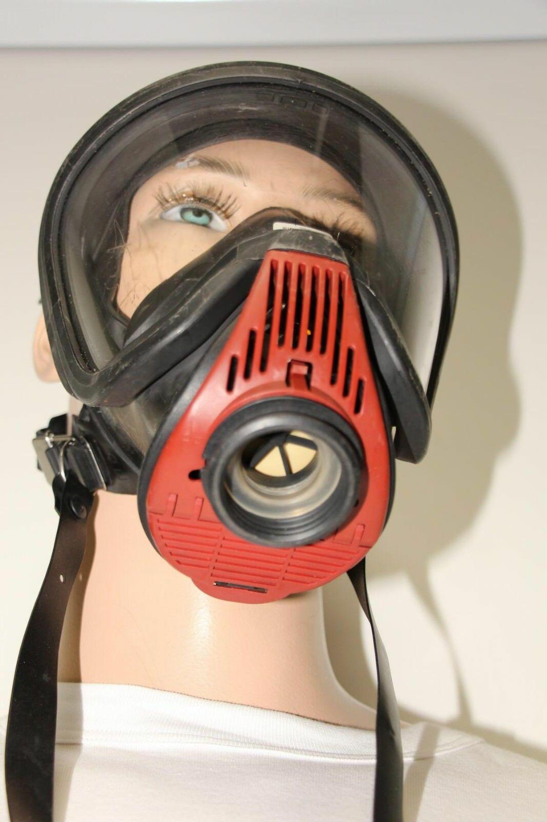 Auer-MSA-Ultra-Elite-Atemschutzmaske-Schutzmaske-Uberdruck-Steckanschluss Indexbild 2