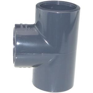 5 Stücl PVC T-Stück 50mm 90° für Pool Teich Filter Poolheizung Solarheizung