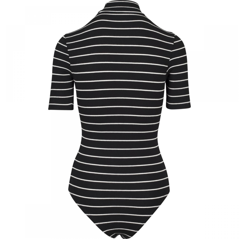 Urban Classics Ladies Body Einteiler Striped Turtleneck Body