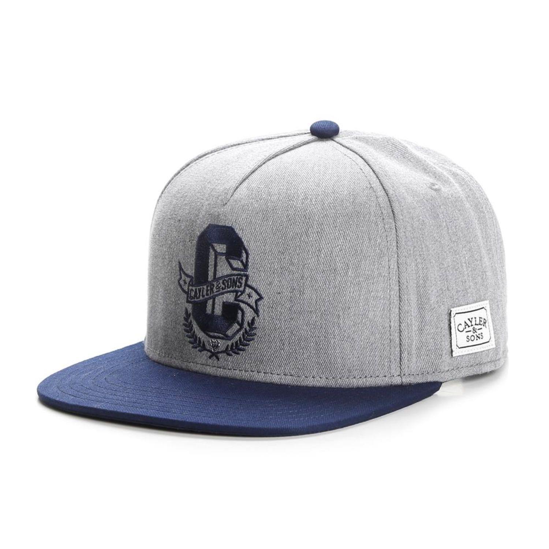 Cayler & Sons C & S Wl Frat Garçon Casquette Gris Snapback Hat Cap ...