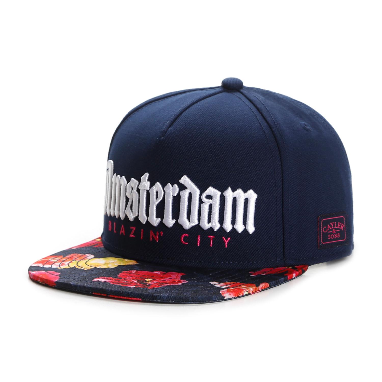 bc2b5a03306 Cayler   Sons C S Wl Amsterdam Blazin  City Snapback Cap Navy Baseball Cap  Hat