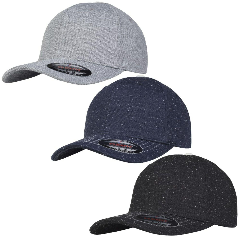 Flexfit Cap Pique Dots Basecap Baseball Kappe 6-Panel S//M L//XL Neu 6277PD