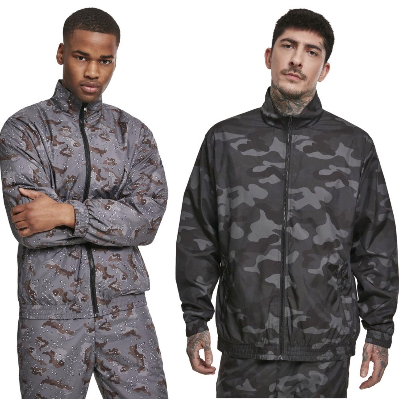 Camouflage Track Jacket