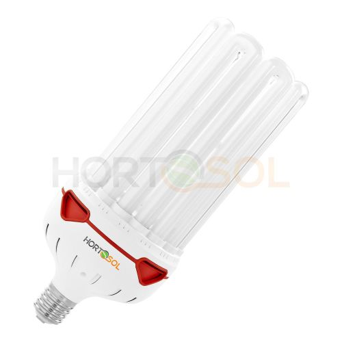 Reflektor Set 200w 200 Watt 2700k ESL Rot Blüte Grow Energiesparlampe HORTOSOL