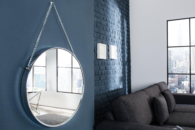Wandspiegel Spiegel Badspiegel THEODOR Bad Metall Design