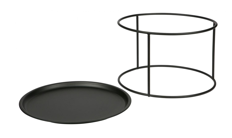 Couchtisch beistelltisch ivar l wohnzimmer metall design for Beistelltisch l form