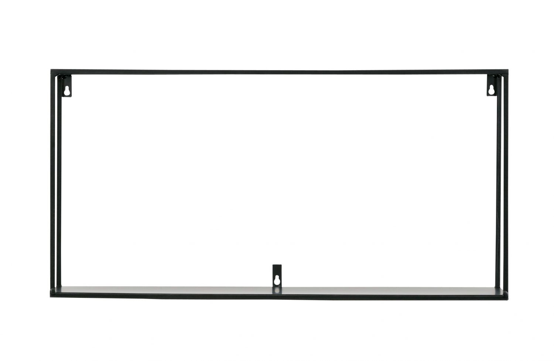 wandregal k chenregal gew rzregal meert xl metall schwarz rack regal 70 cm ebay. Black Bedroom Furniture Sets. Home Design Ideas