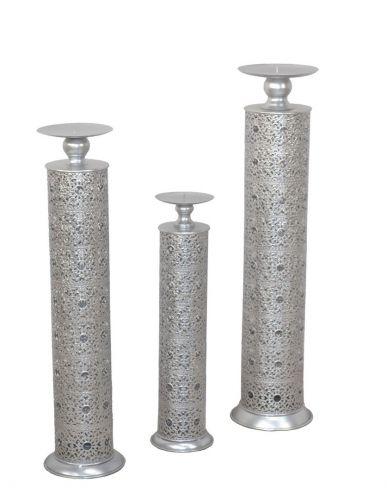 Kerzenständer 3tg Set Standkerzenhalter Metallkerzenständer