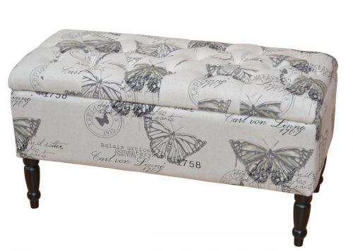 Schmetterling Schmetterling Stauraum Flurbank Motiv