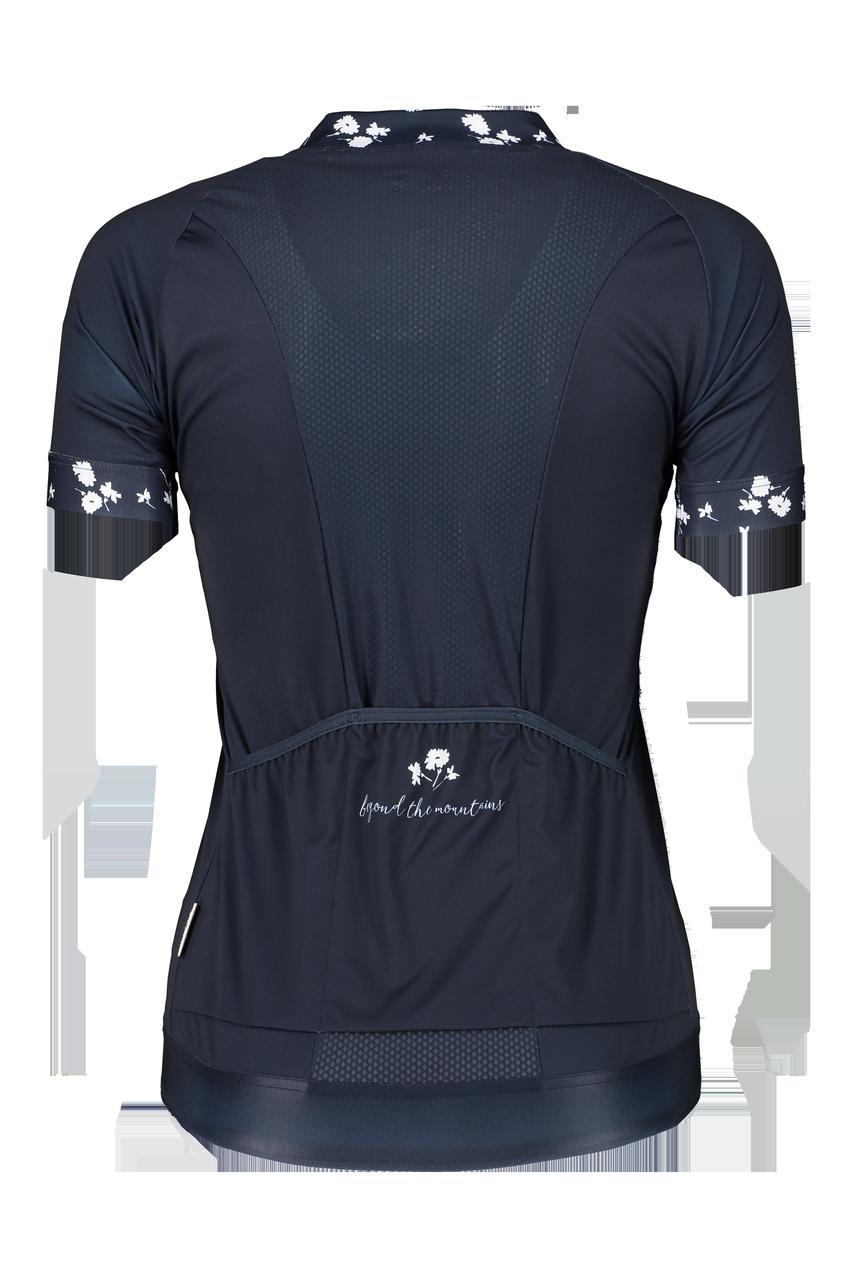 Maloja EngelsteinM 1/2 Damen Bike Trikot Shirt Radtrikot Shirt blau M 23163